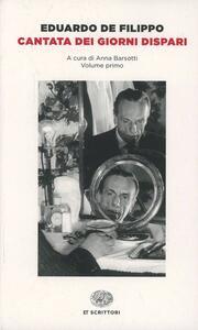 Cantata dei giorni dispari - Eduardo De Filippo - copertina