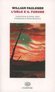 Foto Cover di L' urlo e il furore, Libro di William Faulkner, edito da Einaudi