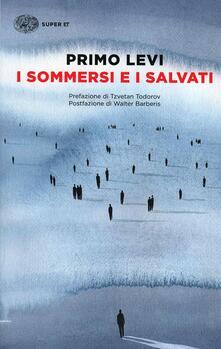 I sommersi e i salvati - Primo Levi - copertina