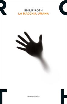 La macchia umana - Philip Roth - copertina