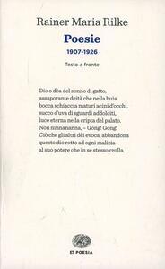 Poesie (1907-1926). Testo tedesco a fronte