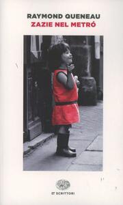 Zazie nel metrò - Raymond Queneau - copertina