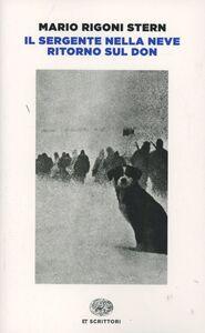 Foto Cover di Il sergente nella neve, Libro di Mario Rigoni Stern, edito da Einaudi