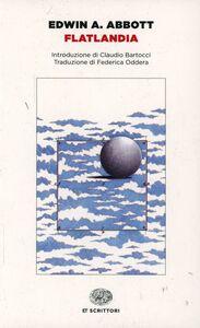 Libro Flatlandia. Storia fantastica a più dimensioni Edwin A. Abbott