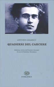 Foto Cover di Quaderni del carcere, Libro di Antonio Gramsci, edito da Einaudi