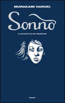 Sonno - Haruki Murakami - copertina