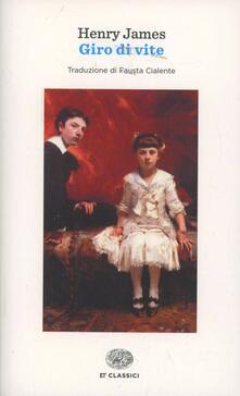 Il giro di vite - Henry James - copertina