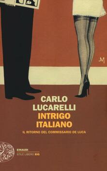 Antondemarirreguera.es Intrigo italiano. Il ritorno del commissario De Luca Image
