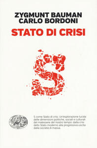 Stato di crisi - Zygmunt Bauman,Carlo Bordoni - copertina
