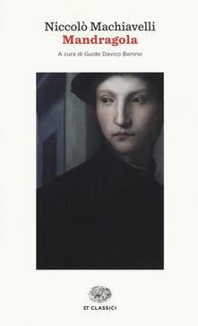 Mandragola - Niccolò Machiavelli - copertina
