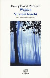 Libro Walden ovvero vita nei boschi Henry D. Thoreau