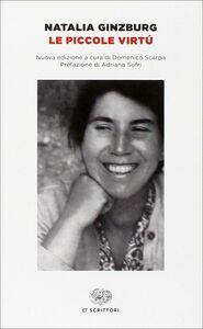 Libro Le piccole virtù Natalia Ginzburg