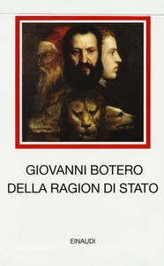 Libro Ragion di Stato Giovanni Botero