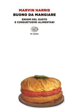 Buono da mangiare - Marvin Harris - copertina