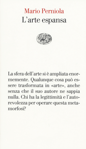 Libro L' arte espansa Mario Perniola