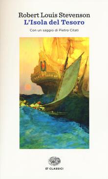 L' isola del tesoro - Robert Louis Stevenson - copertina