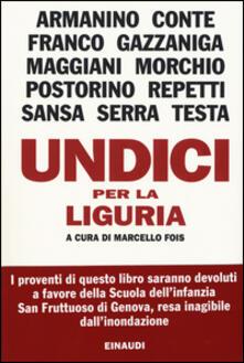 Undici per la Liguria - copertina