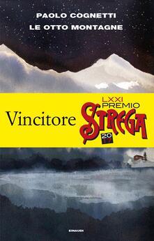 Le otto montagne - Paolo Cognetti - copertina