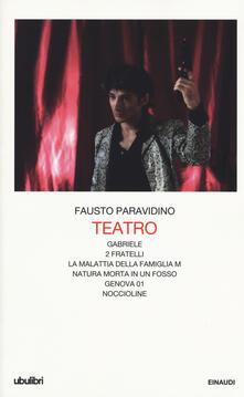 Antondemarirreguera.es Teatro. Gabriele-Due fratelli-La malattia della famiglia M.-Natura morta in un fosso-Genova 01-Noccioline Image