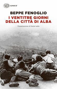I ventitré giorni della città di Alba - Beppe Fenoglio - copertina