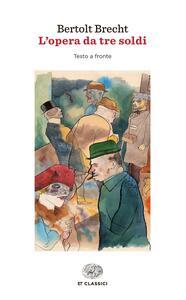 L' opera da tre soldi - Bertolt Brecht - copertina