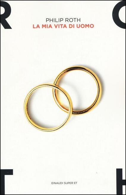 La mia vita di uomo - Philip Roth - copertina