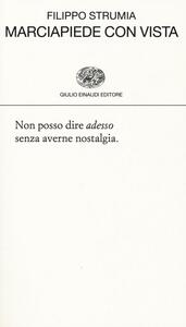Marciapiede con vista - Filippo Strumia - copertina