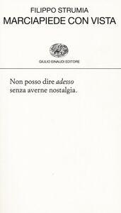 Libro Marciapiede con vista Filippo Strumia