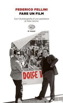 Fare un film - Federico Fellini - copertina