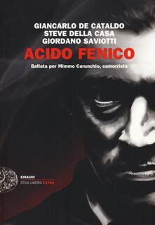 Premioquesti.it Acido fenico. Ballata per Mimmo Carunchio camorrista Image