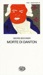 Libro Morte di Danton Georg Büchner
