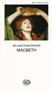 Foto Cover di Macbeth, Libro di William Shakespeare, edito da Einaudi