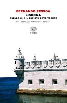 Lisbona - Fernando Pessoa - copertina
