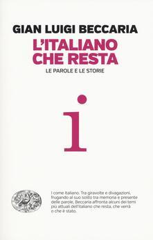 Ristorantezintonio.it L' italiano che resta. Le parole e le storie Image