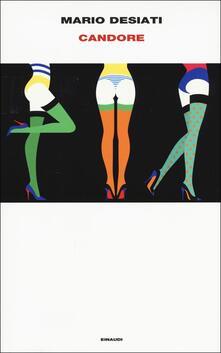 Candore - Mario Desiati - copertina