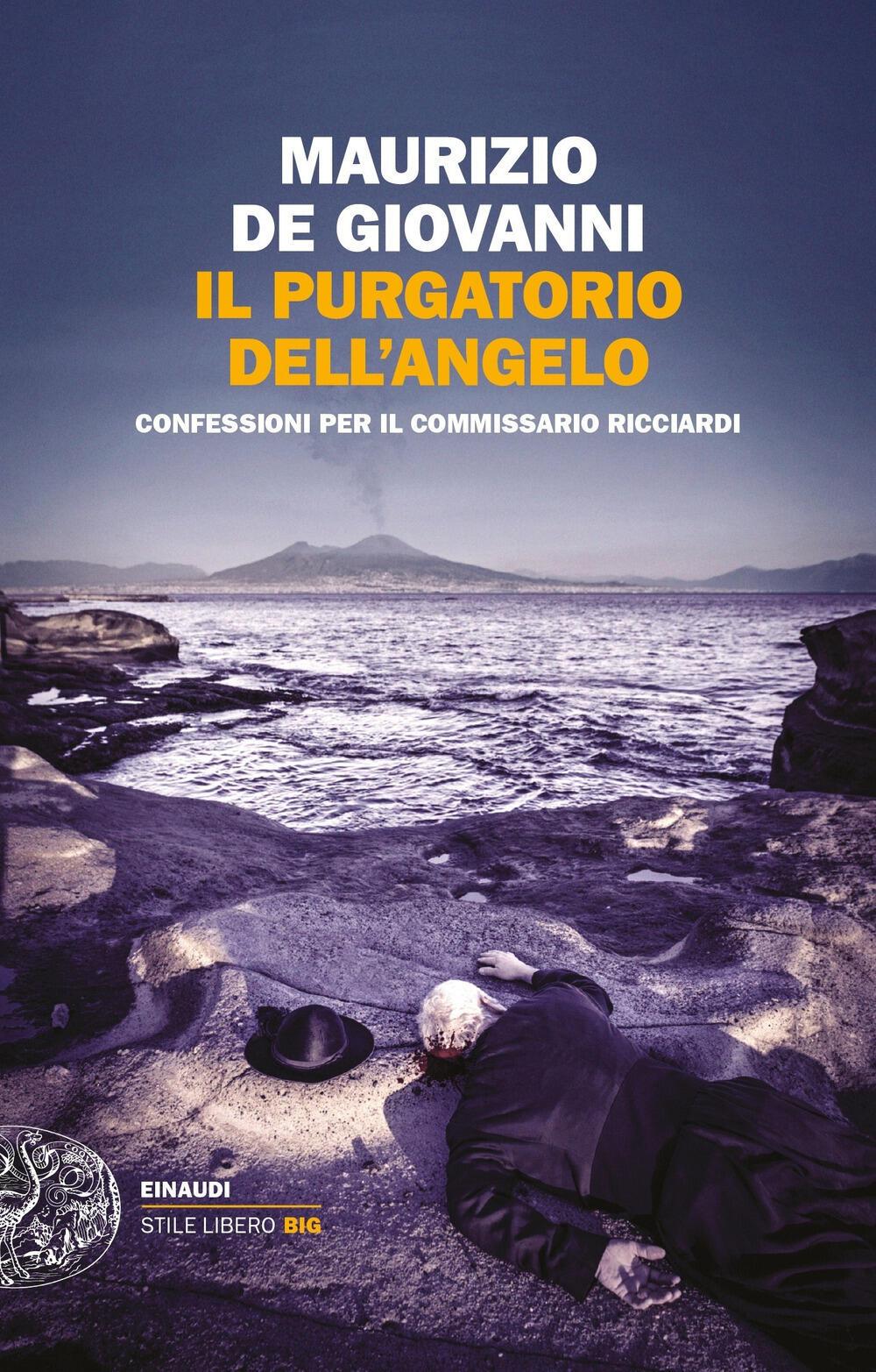 Risultati immagini per Maurizio de Giovanni presenta 'Il Purgatorio dell'Angelo'