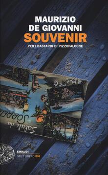 Souvenir per i Bastardi di Pizzofalcone - Maurizio De Giovanni - copertina