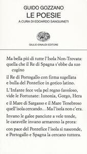 Le poesie - Guido Gozzano - copertina