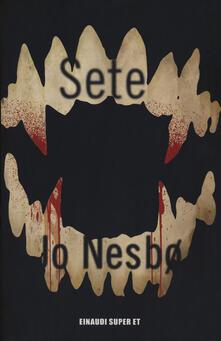 Sete - Jo Nesbø - copertina
