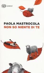 Non so niente di te - Paola Mastrocola - copertina