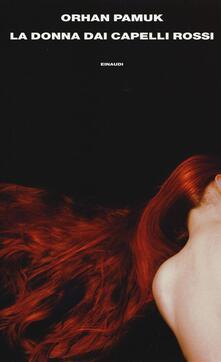 La donna dai capelli rossi - Orhan Pamuk - copertina