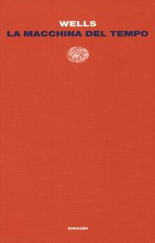 La macchina del tempo - Herbert G. Wells - copertina
