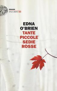 Tante piccole sedie rosse - Edna O'Brien - copertina