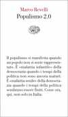 Libro Populismo 2.0 Marco Revelli