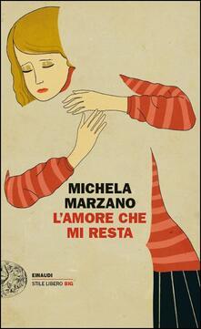 L' amore che mi resta - Michela Marzano - copertina