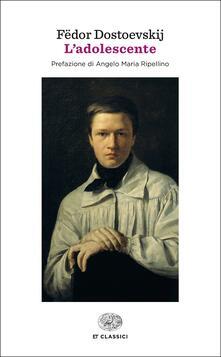 L' adolescente - Fëdor Dostoevskij - copertina