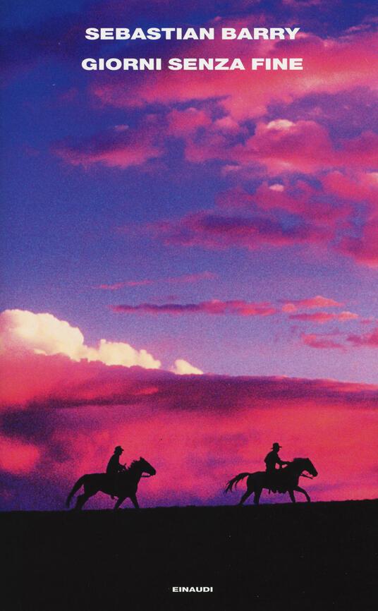Giorni senza fine - Sebastian Barry - copertina