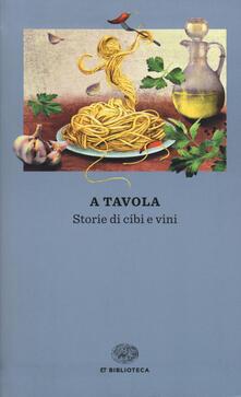 Librisulladiversita.it A tavola. Storie di cibi e vini Image