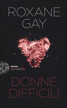 Donne difficili - Roxane Gay - copertina