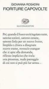 Fioriture capovolte - Giovanna Rosadini - copertina
